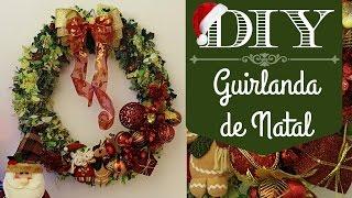 Neste vídeo eu mostro como fazer guirlanda de Natal grande (cerca de 60 cm) para usar na nossa decoração de final de ano!Link para o vídeo do laço: https://goo.gl/CQXiWQMe siga no Instagram: @carolpafiadacheUm beijo grande e até mais!! :D