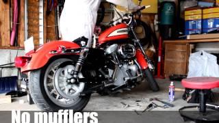3. 2005 Harley-Davidson 1200 Sportster - Roadster Exhaust mods