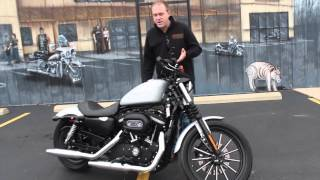 9. Pre-Owned 2009 Harley-Davidson Sportster 883 Iron