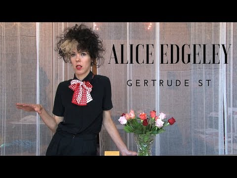 Alice Edgeley (видео)