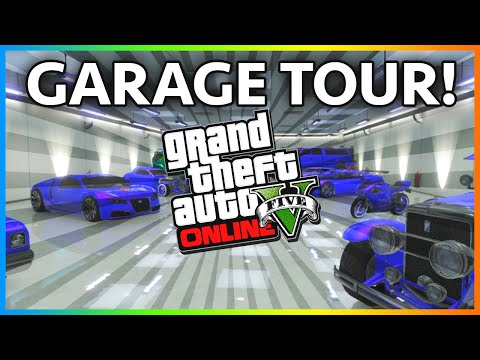 Gta - GTA 5 - GTA 5 Garage Tour Online GTA 5 Online Rare Cars Gameplay GTA 5 Online &