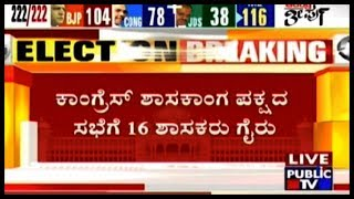 Video 16 MLAs Absent For The Congress Party Legislature Party Meeting..! MP3, 3GP, MP4, WEBM, AVI, FLV Mei 2018