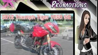 9. 2012 Triumph Tiger SE 1050