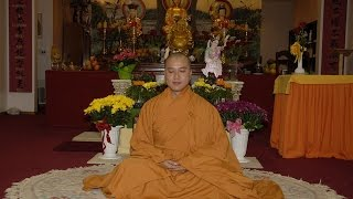 Five Ways to End Your Anger - Thay. Thich Phap Hoa (Nov.12, 2006)