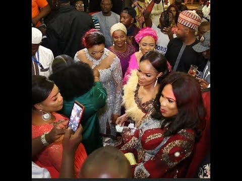 Kemi Afolabi Dance Wit Ogogo,Iyabo Ojo,Fathia Balogun &Others,They spray her money as K1 sings 4 her