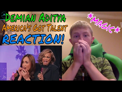 Demian Aditya (Escape Artist) Risks His Life on America's Got Talent REACTION! (видео)