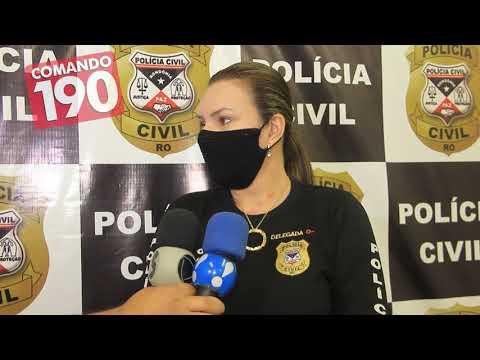 Policia Civil prende supostos estelionatários que estavam aplicando golpes em aposentados, em Ji-Paraná