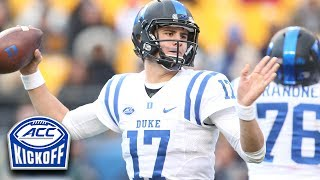 Duke quarterback Daniel Jones has a chance to become one of the best signal callers in the ACC during his redshirt sophomore season. Blue Devils head coach David Cutcliffe told the ACC Digital Network he already believes Jones is an NFL caliber quarterback. Jones threw for nearly 3,000 yards last season and hopes to go well past that mark in 2017.SUBSCRIBE: http://bit.ly/Oqg3iEThe ACC Digital Network (theACCDN) is a joint venture between Silver Chalice, a leading digital sports and entertainment media firm and Raycom Sports, a long-time television producer and partner of the Atlantic Coast Conference.  The cross-platform digital video network covers the spectrum of one of the nation's top intercollegiate athletic conferences, featuring both live programming and original on-demand content throughout the entire year.  All ACCDN videos are viewable on theACC.com, the ACC mobile and tablet app, as well as various streaming and connected mobile and TV devices such as Amazon Fire, Apple TV, go90TM and Roku. For more information, visit theACC.com and follow @theACCDN on Twitter, Instagram and Snapchat.Connect with the ACCDigitalNetwork Online:Visit the ACC WEBSITE: http://theacc.comVisit the ACC Facebook: https://www.facebook.com/theACC/Follow the ACCDN on Twitter: https://twitter.com/theACCDNFollow the ACCDN on Instagram: http://instagram.com/theACCDNhttp://www.youtube.com/user/ACCDigitalNetwork