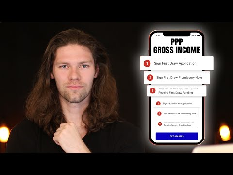 NEW PPP Gross Income Application [Self Employed, 1099, & Gig Workers]