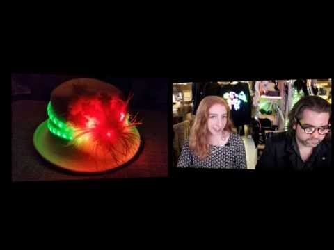 Wearable Electronics with Becky Stern 1/7/2015 – LIVE