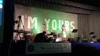Ella Shamataylo - Celine Dion - Because You Loved Me  (I'm Yours festival) 2011