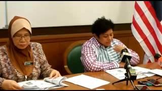 Sidang Media: Transformasi Jabatan Bantuan Guaman - Azalina Othman Said