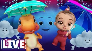 Video Rain Rain Go Away & Many More Baby Songs & 3D Nursery Rhymes by ChuChu TV – LIVE Stream MP3, 3GP, MP4, WEBM, AVI, FLV April 2018
