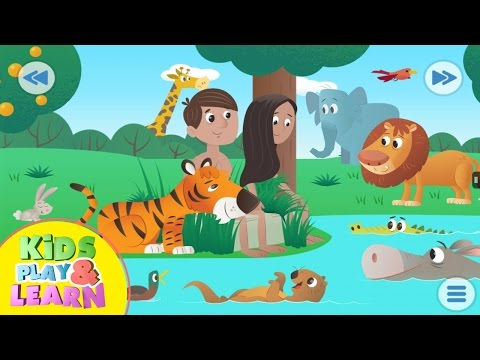 The Creation - Adam and Eve - Bible For Kids