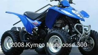 8. 2008 Kymco Mongoose 300.wmv