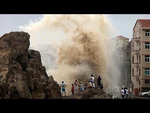 Κίνα: Νεκρούς και ανυπολόγιστες υλικές ζημιές άφησε ο τυφώνας Σουντελόρ