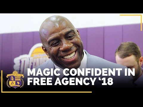 Video: Magic Johnson Very Confident In Lakers Free Agency '18