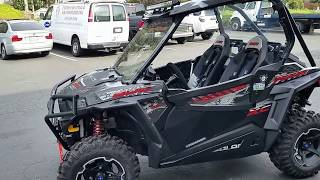 2. 2015 Polaris RZR 900 XC! 6 Miles! Pro Armor Trinity. Never seen dirt! Video! FOR SALE
