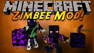 Minecraft Mod Showcase : THE ZIMBEE MOD!