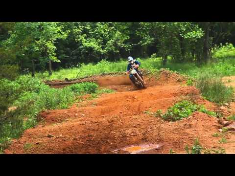 baylor - Just raw two-stroke ripping by Grant Baylor and Sam Evans at the Powersport Grafx/Genuine Dirt Racer test track.