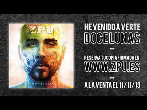 Zpu presenta la pre-escucha y el tracklist de su disco 'Doce lunas'