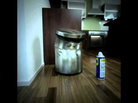 WD-40® Multi-Use Product Removes Gunk from Trash Bins