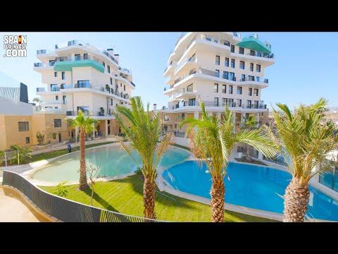 1 линия моря/Эксклюзивный жилой комплекс в Испании/Элитная недвижимость в Бенидорме на Коста Бланке