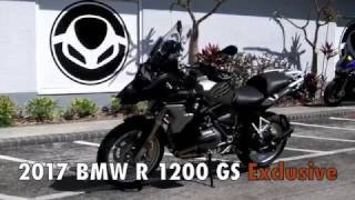 10. 2017 BMW R 1200 GS Exclusive Iced Chocolate Metallic at Euro Cycles of Tampa Bay