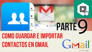 Te gustó el video? SUSCRÍBETE! http://bit.ly/1zM8BJT - Como guardar contactos en Gmail 2015Como guardar contactos en gmail, como agregar contactos en gmail, importar contactos en gmail, sincronizar contactos en gmail, contactos gmail