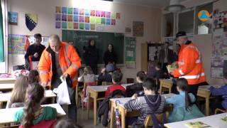 """Posjeta CZ ZDK učenicima OŠ """"Meša Selimović"""" Zenica"""
