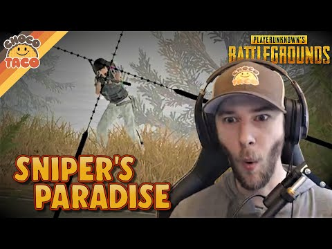 chocoTaco is in Sniper's Paradise ft. A1RM4X - PUBG Duos Gameplay