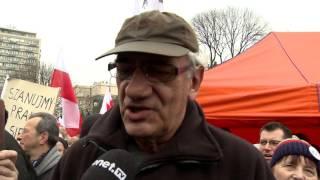 Wiktor Zborowski: Nie ma gorszego sortu Polaków | Protest KOD.