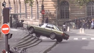 Video Tom Cruise performs a Car stunt on set of Mission Impossible 6 in Paris MP3, 3GP, MP4, WEBM, AVI, FLV Mei 2018