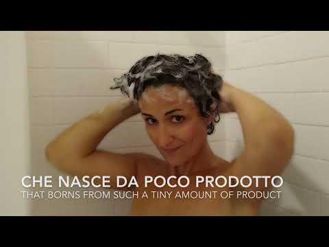 Il sapone solido Coccoon come shampoo | Coccoon solid soap as shampoo