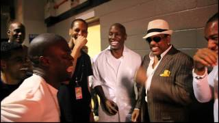 Kevin Hart, Tank, and Tyrese Love Charlie Wilson's Performance at the 2012 Essence Music Festival