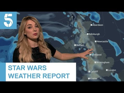 British Weather Report With Star Wars Puns