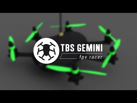 Гоночный FPV гексакоптер TBS Gemini 315мм ARF (TBS-GEMINI)