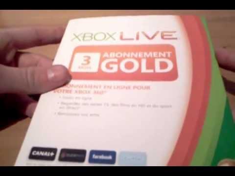comment prendre abonnement xbox live