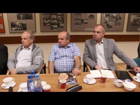 Spotkanie działaczy związkowych z GIP Romanem Giedrojciem w Regionie Rzeszowskim 24.05.2017 r.