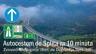 Dugopolje Croatia  city photo : Autocestom do Splita za 10 minuta: Iz Zvirovići Međugorje (BiH) do Dugopolje Split (HR)