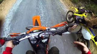6. [KTM] 2008 KTM 450 EXC R First Adventure Ride Part 1