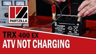 5. How to Test ATV Stator, Rectifier and Battery | Partzilla.com