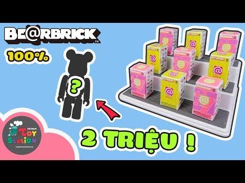 Lần đầu sưu tập Bearbrick mở được siêu hiếm trị giá hơn 2 triệu đồng ToyStation 354 - Thời lượng: 29:59.