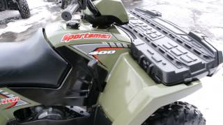 10. 2005 Polaris Sportsman 400 4X4 ATV