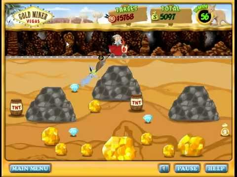 GOLD MINER VEGAS GAME Online