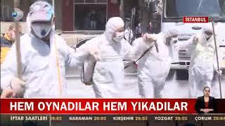 Gaziosmanpaşa Belediyesi Ve Eyüp Belediyesi Ortak Sokak Temizleme Çalışması - Kanal D