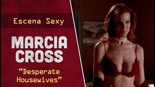 """Escena sexy con Marcia Cross en lencería para la serie americana """"Desperate Housewives""""."""