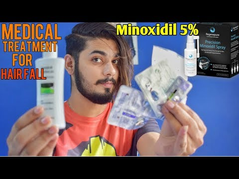 Medical Treatment For Hair Fall   Minoxidil 5% & Dr. Recommendation  