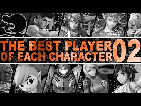 The Best Player Of Each Character In Smash 4 - Part 2 - ZeRo
