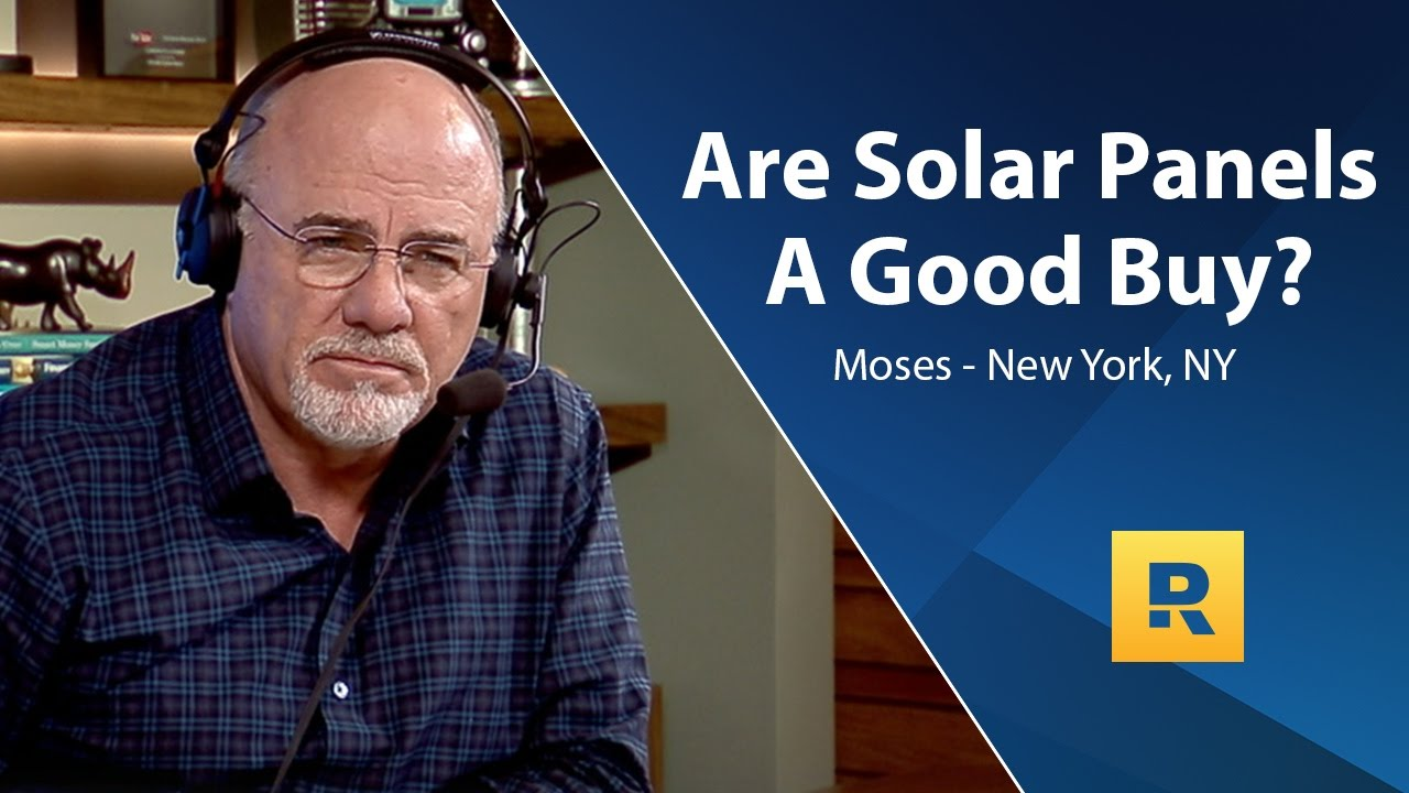 Are Solar Panels A Good Buy?